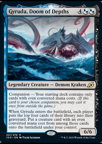 Gyruda, Doom of Depths v.1 (Gyruda, Verdammnis der Tiefen)