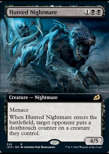 Hunted Nightmare v.2 (Gejagter Nachtmahr)