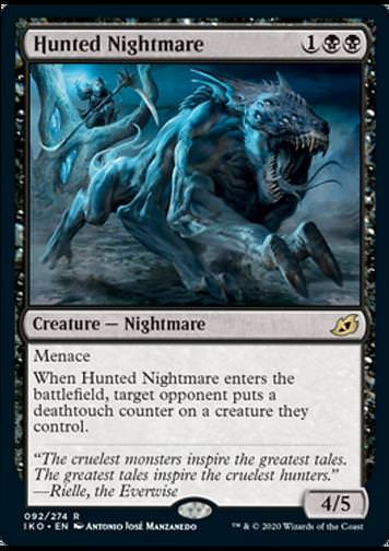 Hunted Nightmare v.1 (Gejagter Nachtmahr)