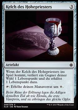 Kelch des Hohepriesters (Hierophant's Chalice)