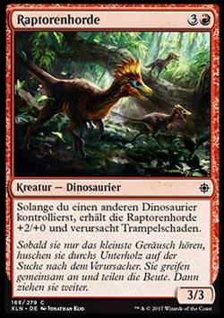 Raptorenhorde (Thrash of Raptors)