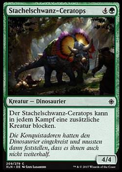 Stachelschwanz-Ceratops (Spike-Tailed Ceratops)