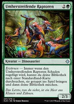 Umherstreifende Raptoren (Ranging Raptors)