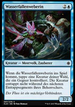 Wasserfallenweberin (Watertrap Weaver)