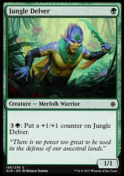 Jungle Delver (Dschungeljäger)