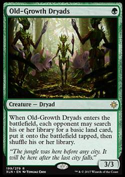 Old-Growth Dryads (Altholz-Dryaden)