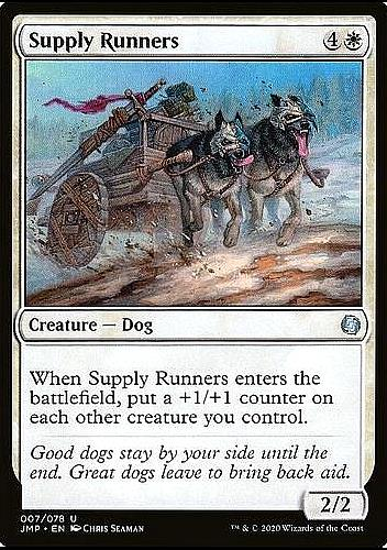 Supply Runners (Supply Runners)