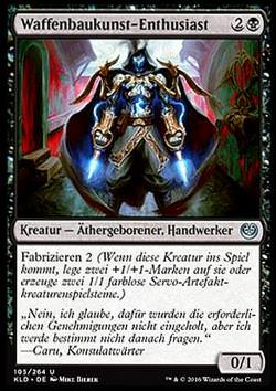 Waffenbaukunst-Enthusiast - FOIL - (Weaponcraft Enthusiast)