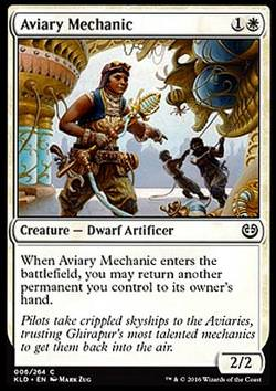 Aviary Mechanic (Mechanikerin des Aviariums)