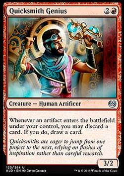 Quicksmith Genius - FOIL - (Flinkschmied-Genie)