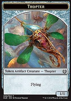 Token: Thopter v.2 (Artifact 1/1)