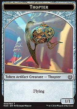 Token: Thopter v.3 (Artifact 1/1)