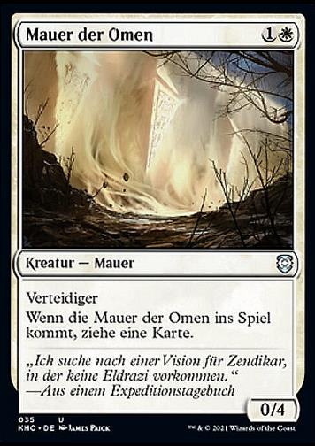 Mauer der Omen (Wall of Omens)