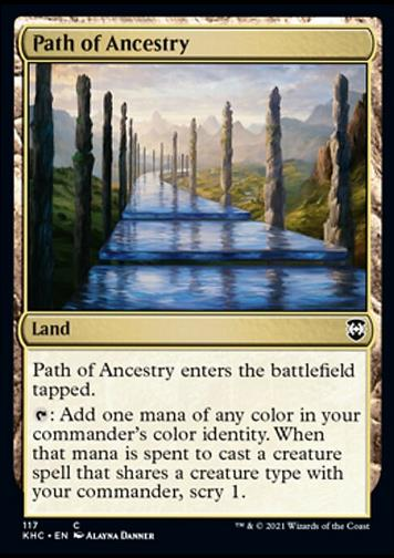 Path of Ancestry (Pfad der Ahnen)