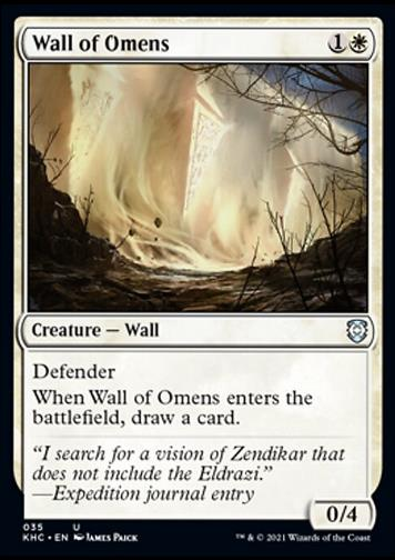 Wall of Omens (Mauer der Omen)