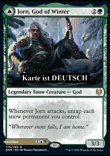 Jorn, Gott des Winters / Kaldring, der R (Jorn, God of Winter // Kaldring, the Rimestaff)