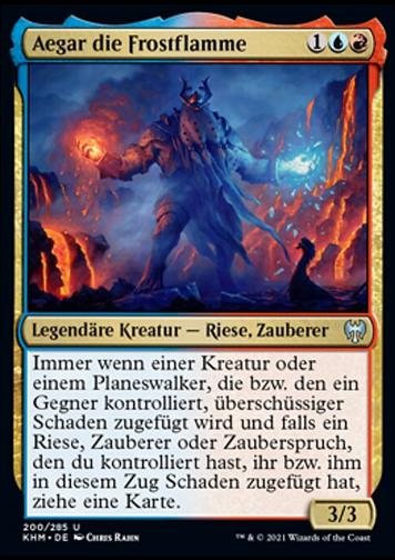 Aegar die Frostflamme (Aegar, the Freezing Flame)