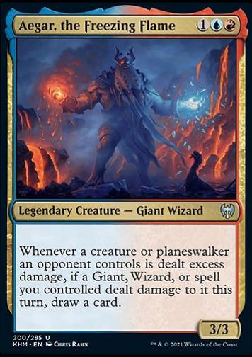 Aegar, the Freezing Flame (Aegar die Frostflamme)