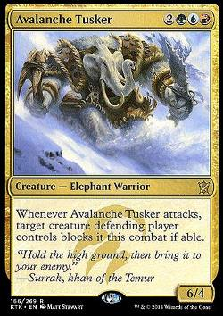 Avalanche Tusker (Lawinenbulle)
