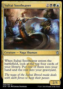 Sultai Soothsayer (Sultai-Wahrsager)