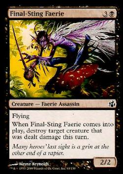 Final-Sting Faerie (Todesstich-Fee)