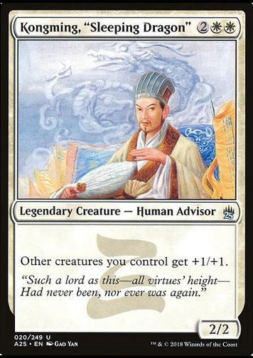 "Kongming, ""Sleeping Dragon"" - FOIL"
