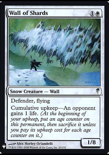 Wall of Shards - FOIL (Scherbenmauer)