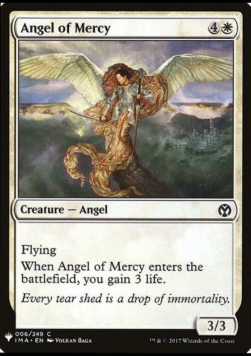 Angel of Mercy (Engel der Gnade)