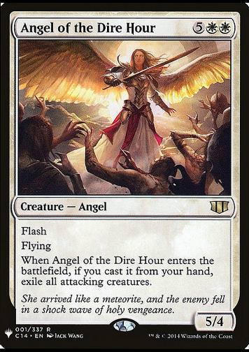 Angel of the Dire Hour (Engel der Stunde der Not)