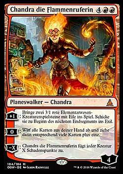 Chandra die Flammenruferin (Chandra, Flamecaller)