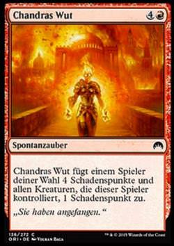 Chandras Wut (Chandra&#39s Fury)