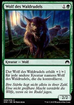 Wolf des Waldrudels (Timberpack Wolf)
