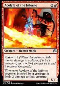 Acolyte of the Inferno (Tempeldiener des Infernos)