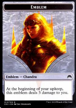 Token: Emblem: Chandra