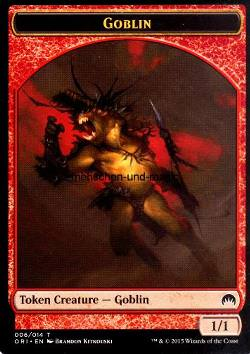 Token: Goblin (Red 1/1)