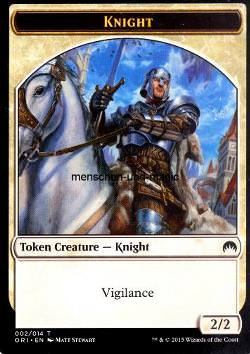 Token: Knight (White 2/2)