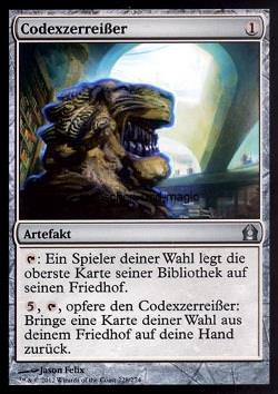 Codexzerreißer (Codex Shredder)