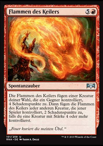 Flammen des Keilers (Flames of the Raze-Boar)