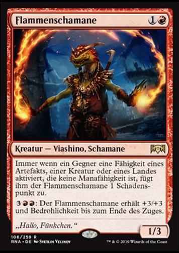 Flammenschamane (Immolation Shaman)