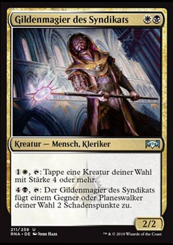 Gildenmagier des Syndikats (Syndicate Guildmage)