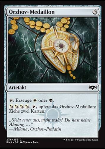 Orzhov-Medaillon (Orzhov Locket)
