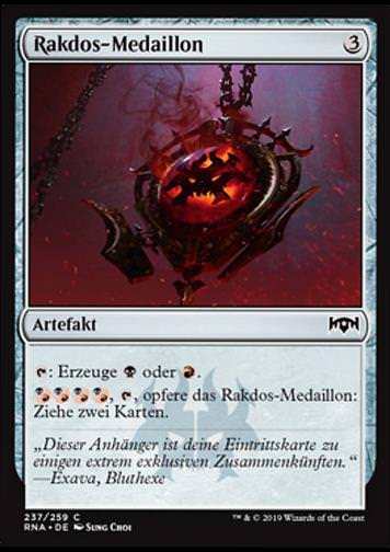 Rakdos-Medaillon (Rakdos Locket)