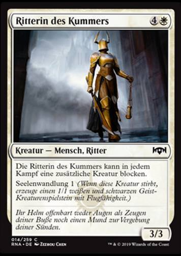 Ritterin des Kummers (Knight of Sorrows)