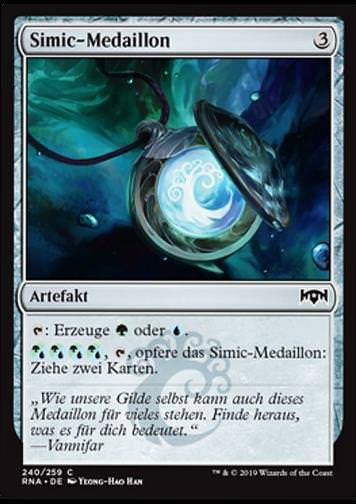 Simic-Medaillon (Simic Locket)