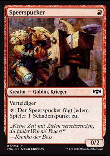 Speerspucker (Spear Spewer)