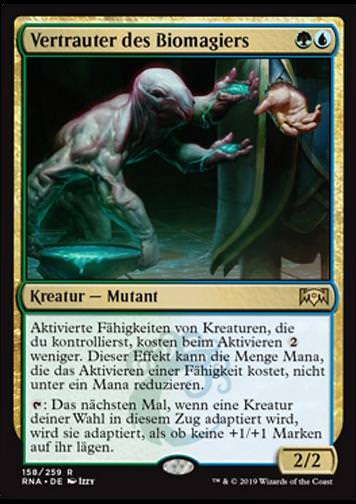 Vertrauter des Biomagiers (Biomancer's Familiar)