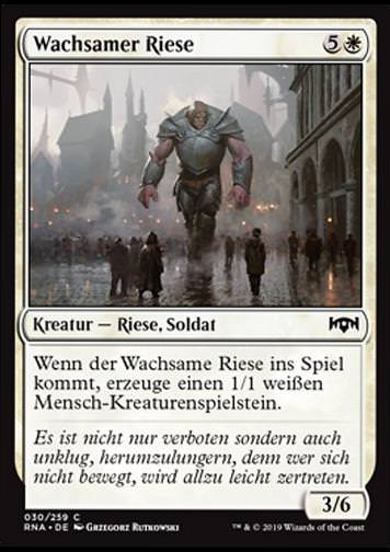 Wachsamer Riese (Watchful Giant)