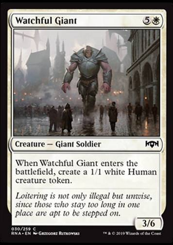 Watchful Giant (Wachsamer Riese)