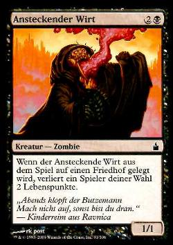 Ansteckender Wirt (Infectious Host)