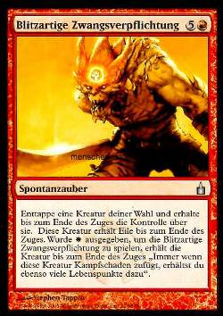 Blitzartige Zwangsverpflichtung (Flash Conscription)